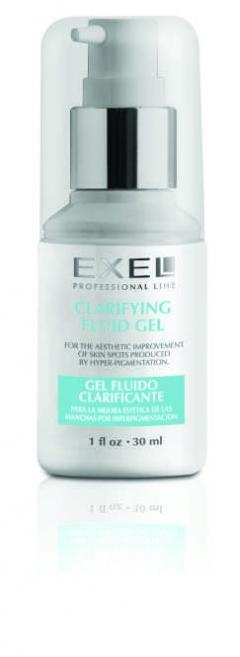 Осветляющий гель Биокосметика Эксель Clarifying fluid gel Biocosmetica EXEL