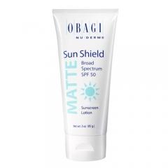 Матирующий солнцезащитный крем SPF 50 Обаджи Sun Shield Matte Broad Spectrum C-Rx SPF 50 Obagi
