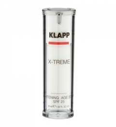 Защитный эйдж-стоп крем Клапп X-treme Whitening Age Stop SPF 25 Klapp