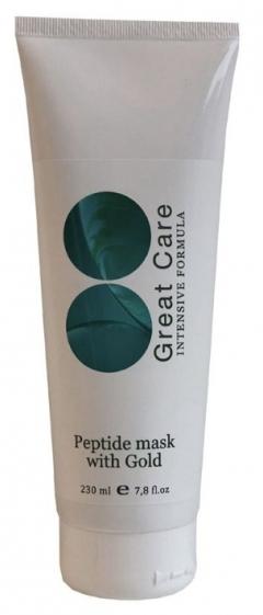 Пептидная маска с золотом Great Care