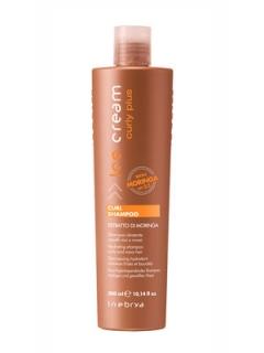 Шампунь для вьющихся волос Инебрия Ice Cream Curly Plus Curl Shampoo Inebrya