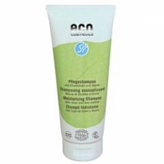 Шампунь увлажняющий с экстрактом листьев оливы и мальвы Эко косметика Eco Moisturizing Shampoo Eco Cosmetics