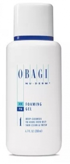 Очищающее средство для нормальной/жирной кожи Обаджи Nu-Derm Foaming Gel Normal to Oily Obagi
