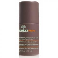 Шариковый дезодорант Нюкс Men 24hr Protection Deodorant Nuxe