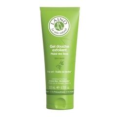 Гель-Эксфолиант для душа Зеленый чай с мятой Лено green tea and mint shower gel exfoliant Laino