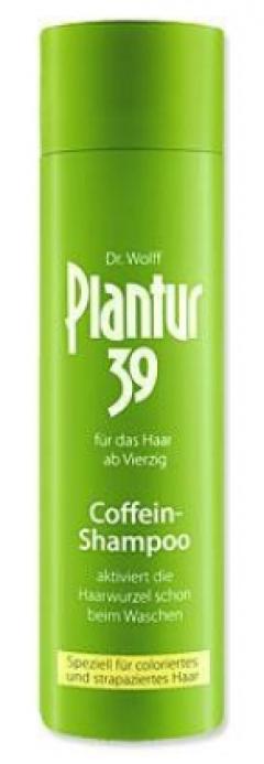 Шампунь с кофеином для поврежденных и окрашенных волос Плантур Shampoo for damaged and colored hair Plantur