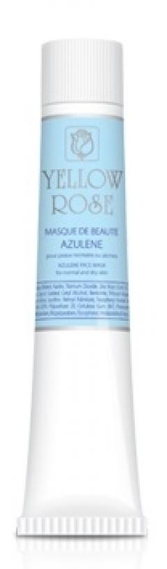 Маска красоты с азуленом для чувствительной кожи Йелоу Роуз Masque de beaute azulene Yellow Rose