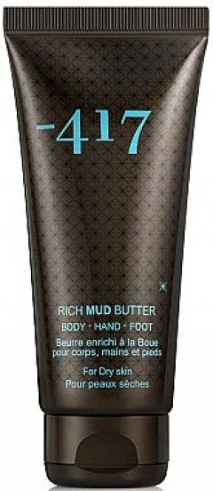 Масло грязевое обогащённое для тела, рук и стоп Минус 417 Rich Mud Butter Body- Hand & Foot Minus 417