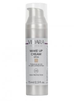 Защитный тонирующий крем  Ведара Make-Up Cream SPF 34 Vedara
