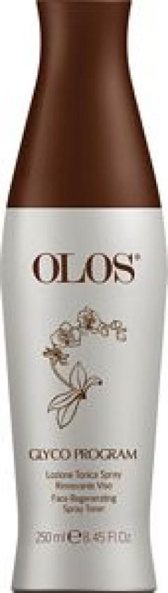 Тоник-лосьон для лица Олос Glyco Face regenerating spray toner Olos