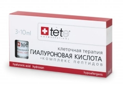 Гиалуроновая кислота + Комплекс пептидов Тете Hyaluronic acid + Peptides Tete