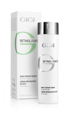 Ночной восстанавливающий крем для всех типов кожи Джи Джи RETINOL FORTE Night Repair Cream Gigi