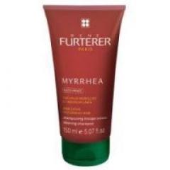 Шампунь для выпрямления волос Миррея Рене Фуртерер Myrrhea Anti Frizz Silkening Shampoo Rene Furterer