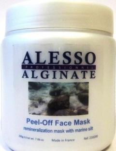 Реминерализирующая альгинатная маска с морским илом Алессо Mask with Marine algae and silt restoring reminiraliziruyuschaya Alesso
