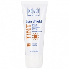 Тонирующий солнцезащитный крем SPF 50 с теплым оттенком Обаджи Sun Shield Tint Broad Spectrum SPF 50 WARM Obagi