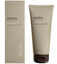 Мягкий крем для бритья без пены Ахава Foam-Free Shaving Cream Men AHAVA
