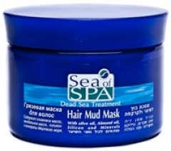Грязевая маска для волос Си Оф Спа Hair Mud Mask Sea Of Spa