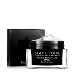 Маска для шеи и зоны декольте Си Оф Спа Black Pearl Age Control Neck & Decollete Beauty Mask Sea Of Spa
