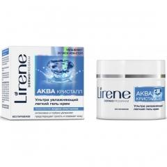 Ультра-увлажняющий легкий крем-гель Лирен Aqua Cristal Intensively Moisturising Cream Lirene