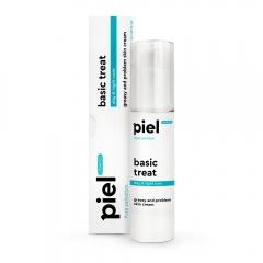 Крем для проблемной кожи день/ночь Пьель косметикс Pure Salvation BASIC TREAT Cream Piel cosmetics