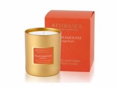 Ароматическая свеча Грейпфрут-лайм Аттиранс Aromatic Grapefruit-Lime Glass Candle Attirance