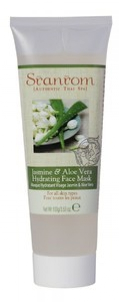 Маска увлажняющая для лица Жасмин и алое вера Сранром Jasmine & Aloe Vera Hydrating Face Mask Sranrom
