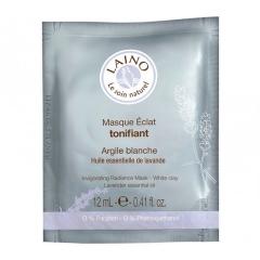 Тонизирующая маска для сияния кожи лица с белой глиной Лено Face Mask Revitalizing Laino