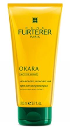 Шампунь Окара для сияния мелированных волос Рене Фуртерер Okara Light Activating Shampoo Rene Furterer