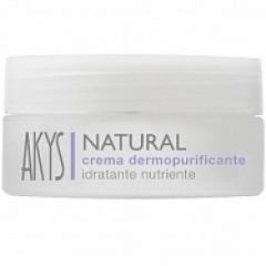 Регулирующий крем для жирной кожи Акис Natural Crema Dermopurificante Idratante Nutriente Akys