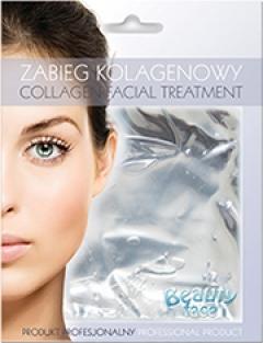 Маска коллагеновая с экстрактом жемчуга Бьюти Фейc Kolagen Maska z ekstraktem perlowym Beauty face