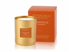 Ароматическая свеча Корица Аттиранс Aromatic Cinnamon Glass Candle Attirance