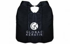 Парикмахерский пеньюар Глобал кератин Hair dressing gown GK Hair Professional (Global Keratin)