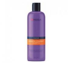Шампунь для выравнивания волос Индола Innova Keratin Straight Shampoo Indola