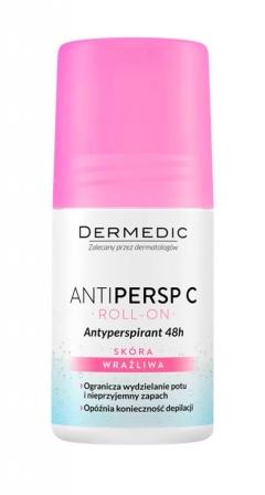 Антиперспирант замедляет рост волос после депиляции Дермедик Antipersp C 48h Anti-Perspirant Deodorant Dermedic