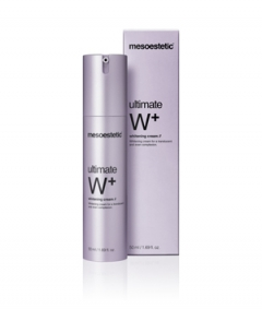 Осветляющий крем Мезоэстетик ultimate W+ whitening cream Mesoestetic