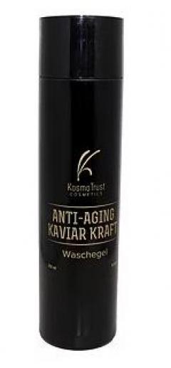 Гель для умывания с черной икрой и сусальным золотом КосмоТраст ANTI-AGING KAVIAR KRAFT Waschegel KosmoTrust