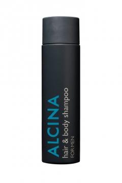 Шампунь для волос и тела мужской Альцина hair & body shampoo Alcina