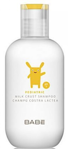 Шампунь для сухой кожи головы (от себорейных корочек) Бэйби Лабораториз Pediatric Milk Crust Shampoo Babe Laboratorios