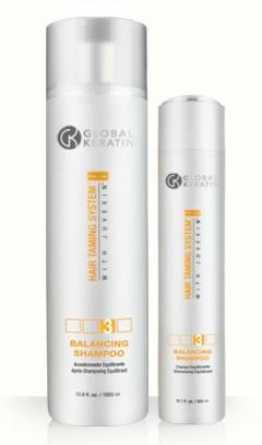 Шампунь-домашний уход питание и защита Глобал кератин Balance Shampoo GK Hair Professional (Global Keratin)
