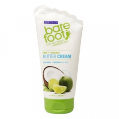 Крем-масло для ног Лайм и Кокос Фриман Bare Foot butter cream Lime Coconut Freeman