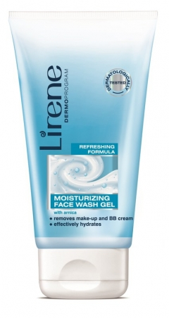 Увлажняющий гель для умывания Лирен Beauty Care Moisturising Face Wash Gel Lirene