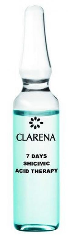 7-дневная предпилинговая подготовка шикимовой кислотой Кларена Acid line 7 days Shicimic & Lactic Acid Therapy Clarena