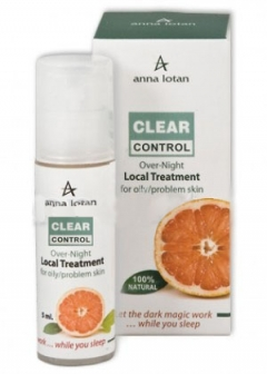 Ночной локальный уход Клир-контроль Анна Лотан Clear Control Over-night Local Treatment Anna Lotan