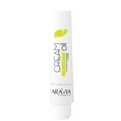 Крем для рук Cream Oil с маслом макадамии и карите Аравия Профешнл Cream Oil Aravia Professional