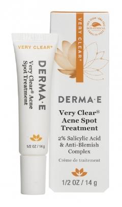 Средство от угрей точечного нанесения Very Clear® Дерма Е Very Clear®  Acne  Spot Treatment Derma E