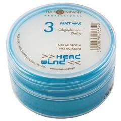 Матирующий воск сильной фиксации Хаир Компани Head Wind Matt Wax Hair Company