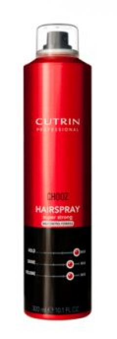 Лак экстра-сильной фиксации Кутрин CHOOZ Hairspray Max Cont Cutrin