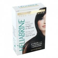 Витамины для укрепления волос и ногтей Элиабрин CAPSULES Heliabrine
