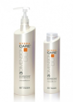 Увлажняющий шампунь для волос Hydrating shampoo Professional By Fama