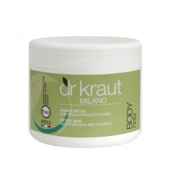 Грязевая маска DETOX Доктор Краут Detox & Tone mud algae and clay Dr. Kraut